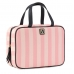 Дорожная косметичка кейс Victoria's Secret Travel Case, Pink Stripe