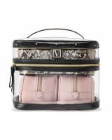 Косметичка 4-в-1 Victoria's Secret Beauty Bag, Peach Piton