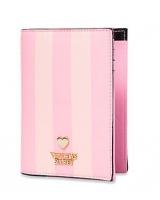 Обложка в Полоску Для Паспорта Victoria's Secret Passport Cover, Pink Stripe