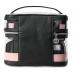 Косметичка 4-в-1 Victoria's Secret Beauty Bag, Pink and Black Stripe