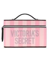 Косметичка-кейс Victoria's Secret Case, Pink Stripe Logo