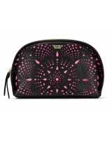 Косметичка Victoria's Secret Laser Glam Bag, Black Perforation