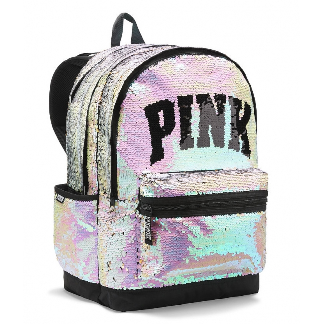 Рюкзак в паетках SEQUIN BLING CAMPUS BACKPACK