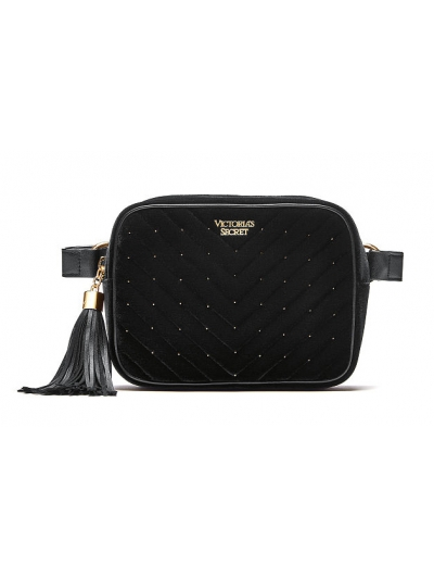 Сумочка Victoria's Secret Velvet Stud Belt Bag