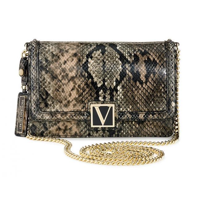 Сумочка кроссбоди Victoria's Secret The Victoria Medium Shoulder Bag Piton