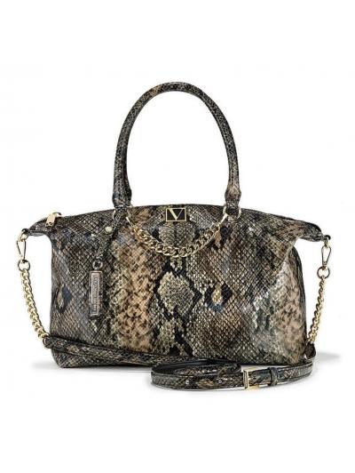 Сумочка Victoria's Secret Slouchy Satchel Piton Bag