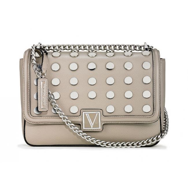 Сумочка кроссбоди Victoria's Secret The Victoria Medium Shoulder Dots Bag