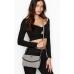 Сумка Кроссбоди Victoria's Secret Pebbled V-Quilt Crossbody, Grey