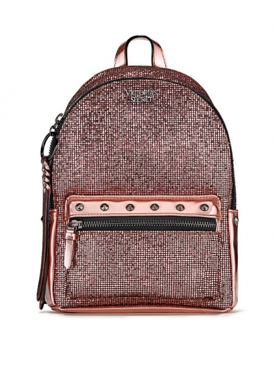 Рюкзак Victoria's Secret Sparkle Small City Backpack, розовый