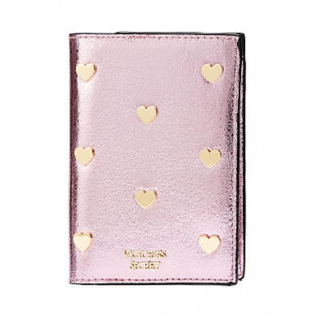 Обложка для Паспорта Victoria's Secret Pop Heart Metallic Passport Cover
