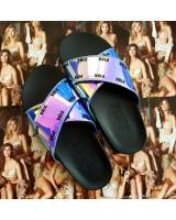 Пляжные сланцы STRAP SLIDE от Victoria's Secret PINK Irisident