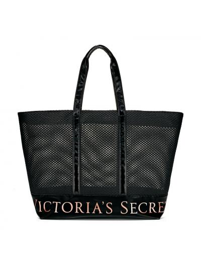 Сумка Victoria's Secret Victoria's Secret Fishnet & Lac Tote Bag