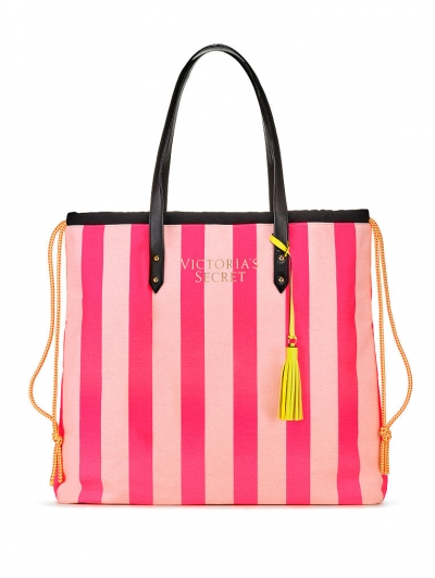 Сумка Victoria's Secret Striped Tote