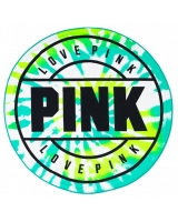 Круглое Полотенце Pink Beach Towel