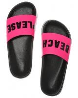 Шлёпанцы / Сланцы STRAP SLIDE от Victoria's Secret PINK розовые