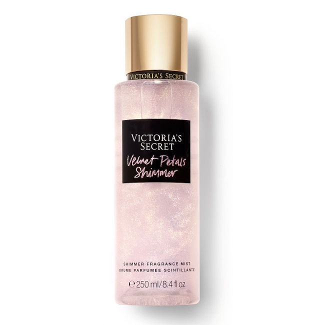 Спрей с Блестками Victoria's Secret Velvet Petals Holiday Shimmer Fragrance Mist