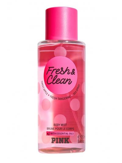 Спрей  Victoria's Secret PINK Fresh & Clean Body Mist