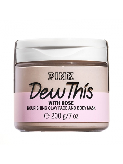 Маска для лица и тела PINK CLAY FACE AND BODY MASK