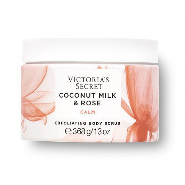 Скраб для тела Тела Victoria s Secret Coconut Milk & Rose Exfoliating Body Scrub, 368g