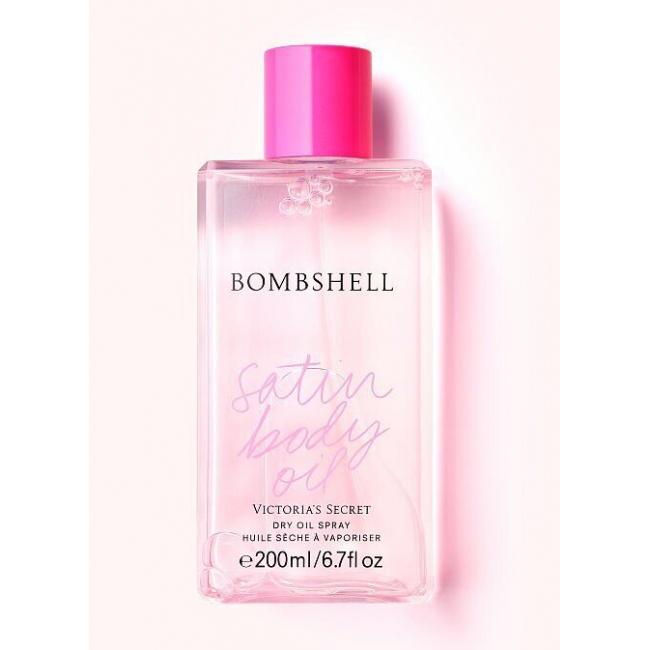 Парфюмированное Масло для Тела Victoria's Secret Bombshell Dry Oil Spray, 200 ml