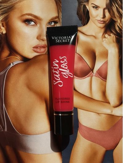 Блеск для Губ Victoria's Secret Lip Silk Satin Gloss. Passionfruit