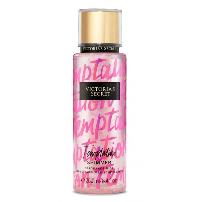 Спрей с Блестками Victoria's Secret Temptation Shimmer Fragrance Mist