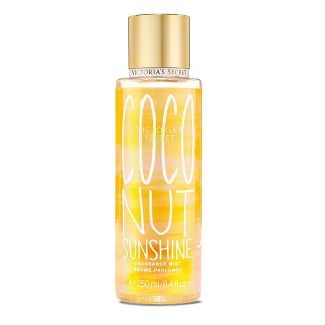 Спрей для Тела Victoria's Secret Summer Vacation Fragrance Mist Coconut Sunshine On The Island