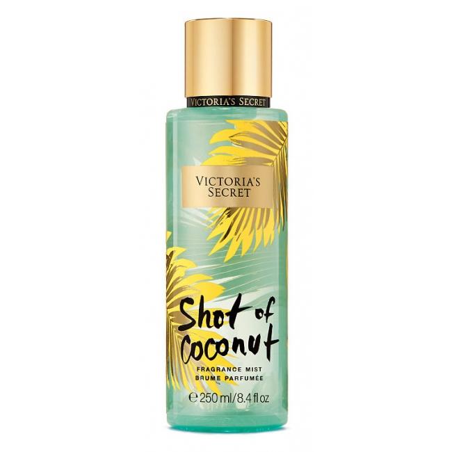 Спрей для Тела Victoria's Secret Juiced Fragrance Mist. Shot Of Coconut