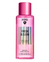 Спрей с Блестками Victoria's Secret Pink Fresh & Clean Shimmer Body Mist
