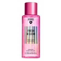 Спрей с Блестками Victoria's Secret Pink Fresh & Clean Shimmer Body Mist