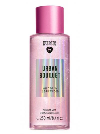 Спрей с Блестками Victoria's Secret Pink Urban Bouquet Shimmer Body Mist