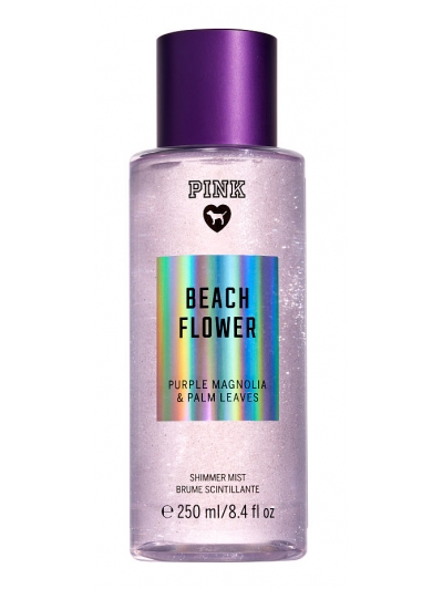 Спрей с Блестками Victoria's Secret Pink Beach Flower Shimmer Body Mist