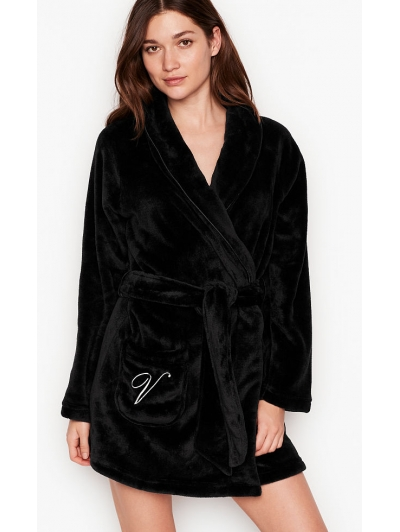 Халат Виктория Сикрет Plush Short Cozy Robe