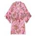 Халат-кимоно Victoria's Secret Flounce Satin Kimono