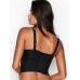Бюстье со стразами Victoria's Secret Very Sexy Logo Strap Balconette, чёрный