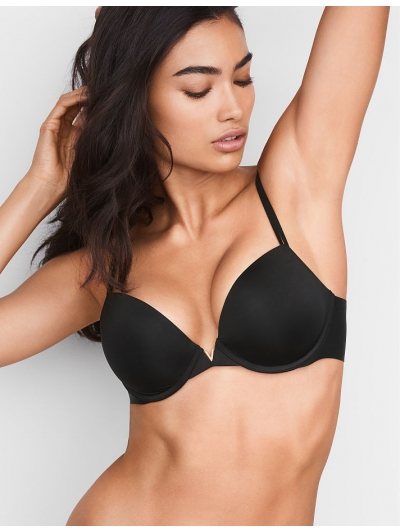 Бюстгалтер  Victoria's Secret Side Smoothing Push-Up Plunge Bra