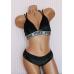 Бархатный комплект Victoria's Secret PINK VELVET TRIANGLE BRALETTE & Tong
