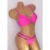Комплект Victoria's Secret PINK Wear Everywhere  Push-Up Bra & STRAPPY LOGO THONG