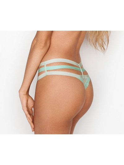 Кружевные трусики  Triple-strap Cheeky Panty