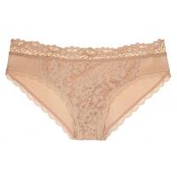 ТРУСИКИ С АЖУРНЫМИ ВСТАВКАМИ ОТ VICTORIA'S SECRET Lace-front Bikini Panty
