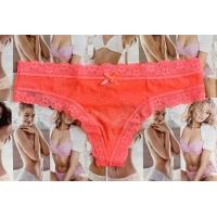 Кружевные трусики Lace Tong Panty