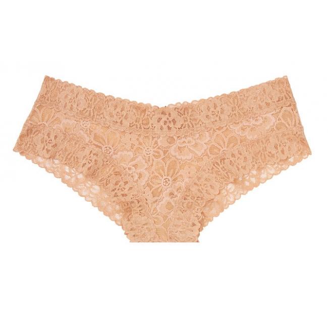 Кружевные трусики Floral Lace Cheeky Panty