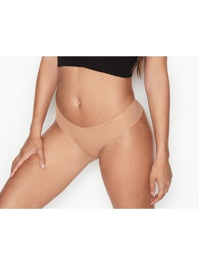 Бесшовные трусики Victoria's Secret No Show Tong Panty, nude