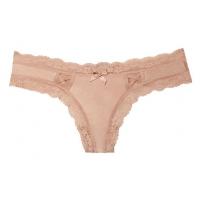 ТРУСИКИ С АЖУРНЫМИ ВСТАВКАМИ ОТ VICTORIA'S SECRET Lace-up Thong Panty
