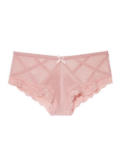 ТРУСИКИ С АЖУРНЫМИ ВСТАВКАМИ ОТ VICTORIA'S SECRET Lace-Trim Cheekini Panty