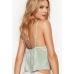 Пижама Victoria's Secret Shine Pleat Crop Cami & Short Set