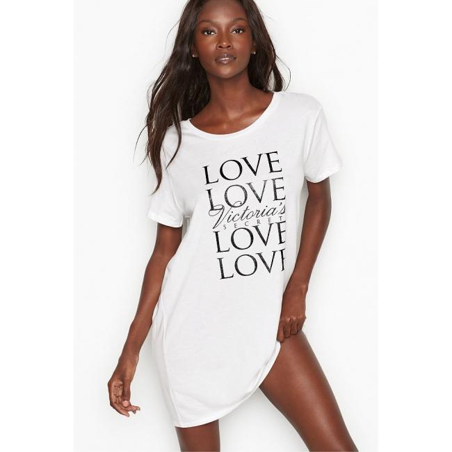 Ночнушка Victoria's Secret Scoopneck Sleepshirt