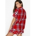 Пижамка Victoria's Secret Flannel Boxer PJ