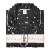 Атласная Пижама Victoria's Secret Satin Short PJ Set, Black Star Print