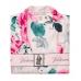 Атласная Пижама Victoria's Secret Satin Short PJ Set, White Flowers